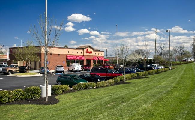 Retail Center Grounds Maintenance in Winchester, VA