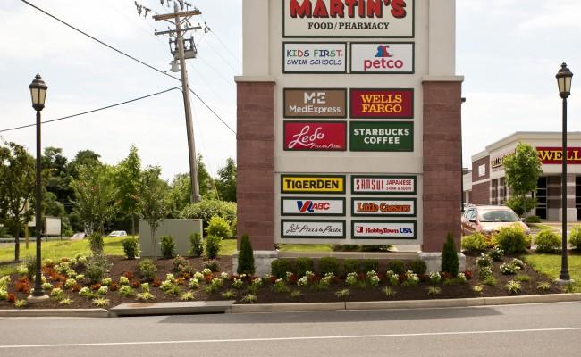 Gateway Shopping Center Landscape Management in Winchester, VA