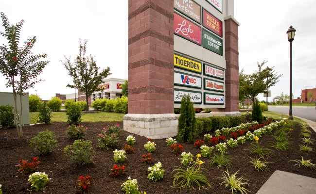Gateway Shopping Center Landscaping in Winchester, VA