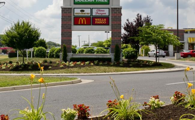 Shopping Center Landscape Maintenance in Winchester, VA