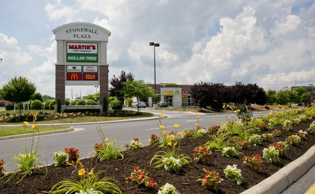Retail Shopping Center Landscape Management in Winchester, VA