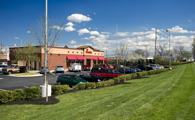 Retail Center Grounds Maintenance in Winchester, VA
