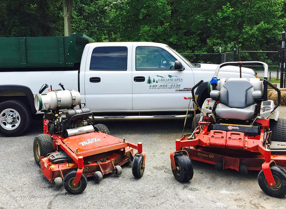 Environmentally Efficient Propane Mowing Equipment - Greatscapes