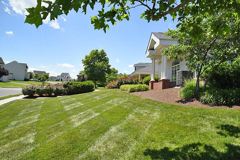 Grounds Maintenance at Wakeland Manor in Winchester, VA